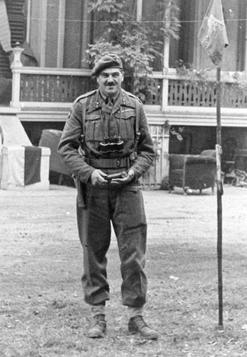 El general Urquhart, responsable de las tropas británicas en Arnhem
