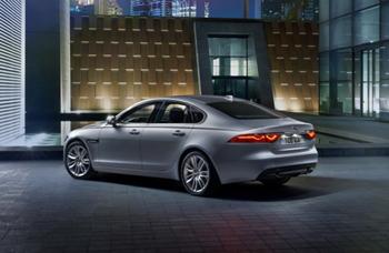 Imagen promocional del Jaguar XF