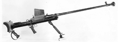 Rifle antitanque Boys - Fuente: Wikipedia: https://es.wikipedia.org/wiki/Fusil_antitanque_Boys