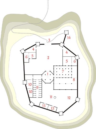 Monasterio de Cafârna. Pulsa para ver más grande