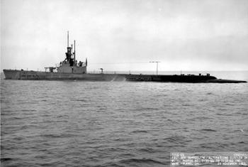 Fotografía en el puente del Submarino Cunia.