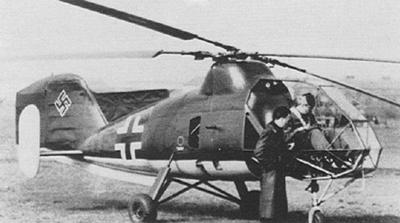 Flettner Fl 282 kolibri - imagen de dominio público