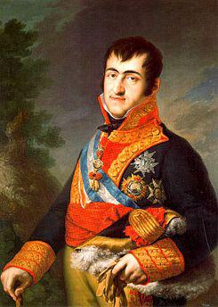 Fernando VII de España. Fuente: Wikipedia