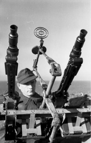 Dos MG44 en montaje múltiple