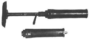 Lanzagranadas Tipo 10 montado y desmontado - Imagen de dominio Público del Gobierno Federal de EEUU