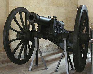 Systeme An XI cannon de 6 libras Douay 1813 - Fuente: wikipedia.org