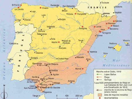 Revolucin de 1820 en España