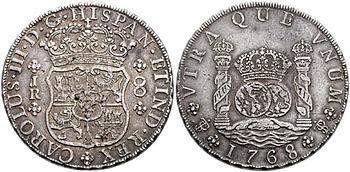 Potosí 8 reales