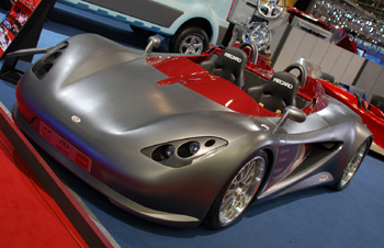 Sbarro Turbo S20 en un salón de automóviles