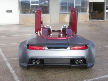 Trasera del Sbarro Turbo S20