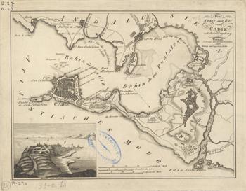 Cádiz en 1820
