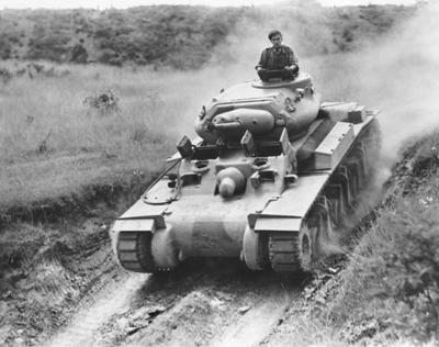 Tanque Sentinel en unas pruebas realizadas en Sidney en 1942 - Fotografía de dominio público