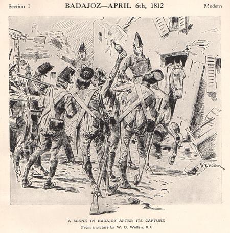 Badajoz tras la captura