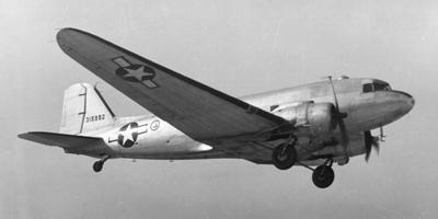 C-47 Skytrain - Fotografía de dominio público.