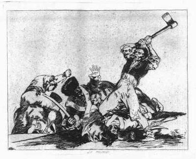Desastres de la Guerra de Goya