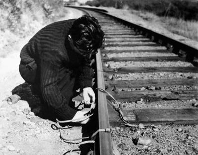 Operaciones de la resistencia en las vías férreas. De eso trata esta partida