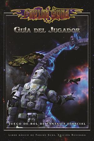 Portada del manual del jugador de la edición española de Fading Sun, editada por Ediciones Epicismo