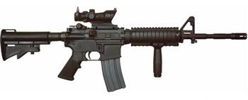 M4A1 con mira ACOG y empuñadura
