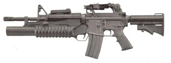 M4 con lanzagranadas M-203