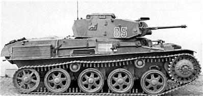 Carro L-60 S/II m/39, imagen de dominio público