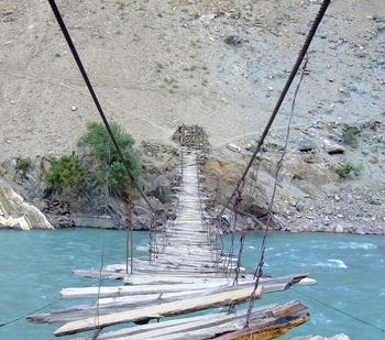 Entrada a Puente largo