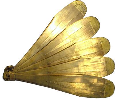 Un zimba muy elaborado, posiblemente de algún jefe o líder - imagen de dominio público de Codell