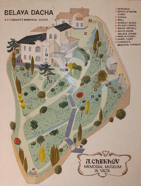 Mapa Dacha