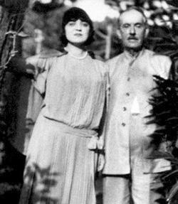 Rosa y su padre