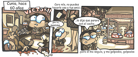 Tira Cómica Víctor 001
